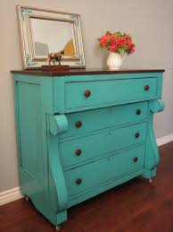 Shabby Chic Furniture Paint Colors by Best 25 Teal Painted Furniture Ideas On Pinterest Teal Dining