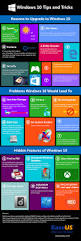 windows 10 tips and tricks infographic