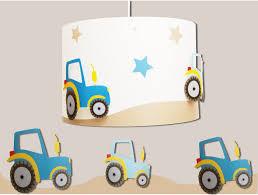 suspension chambre enfants suspension garçon tracteurs fabrique casse noisette