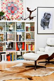 Malm Bookshelf Ikea Spotted Expedit 4x4 Bookcase In White Get The Look Ikea