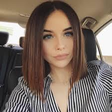 blunt hair hair u0026 makeup pinterest straight bob acacia