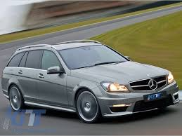 mercedes c class station wagon mercedes c class w204 facelift c63 amg kit t modell s204