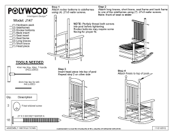Polywood Jefferson Rocking Chair Index Of Prodimages Dimensions Assembly Instructions