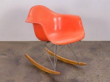 Orange Armchair Fiberglass Orange Mid Century Modernism Style Antiques Ebay