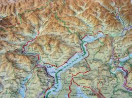 Piedmont Italy Map by Raised Relief Map Of Piedmont As 3d Map
