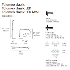 Tolomeo Desk Lamp by Tolomeo Classic Tw Table Lamp Artemide Metropolitandecor