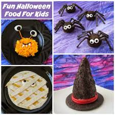 halloween food for kids to make spooky halloween recipes for kids