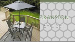Patio Chairs At Walmart Walmart Canada Cranston Square Dining Table 6 Patio Set