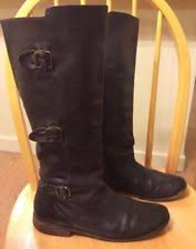 s frye boots size 9 frye mara button otk black leather s knee high