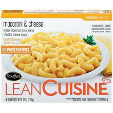 liant cuisine nestle stouffers lean cuisine macaroni and cheese 10 ounce at