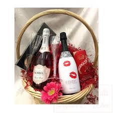 Wine And Chocolate Gift Baskets Korbel Champagne Gift Basket