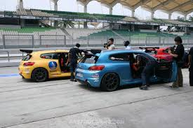 volkswagen scirocco r 2016 2011 volkswagen scirocco r cup asia at sepang international circuit