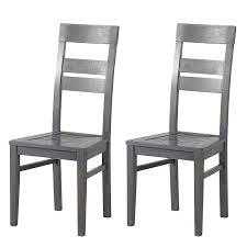 Esszimmerstuhl Eiche Massiv Ge T Grau Esszimmerstühle Aus Holz Und Weitere Esszimmerstühle