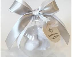 baby bootie ornament pregnancy ornament etsy
