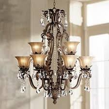 Traditional Living And Dining Room Chandeliers Lamps Plus - Traditional dining room chandeliers