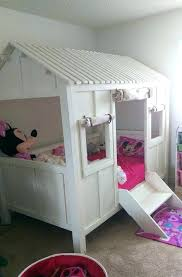 Doll House Bunk Beds Dollhouse Bed Dollhouse Loft Bed Princess Dollhouse At