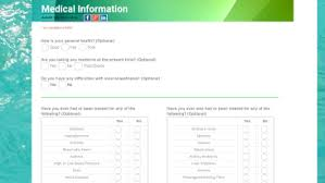 health and lifestyle form templates health and lifestyle form