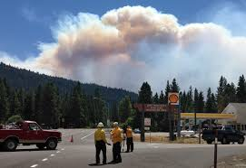 Washington Wildfire Area by Fires Intensify As Hundreds Evacuate In Washington And Oregon La