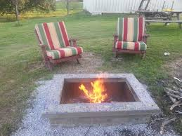 How To Build A Backyard Firepit by Build An Ultimate Outdoor Firepit Complete With Custom Cap Stone