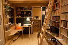Tiny House France by Nomadic Bookseller Travels All Over France With His Tiny Library