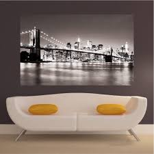 new york decal mural new york wallpaper decal nyc cityscape zoom