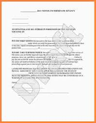eviction notice sample eviction notice to tenant template 19