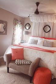 Coral Bedroom Ideas | off white and coral french inspired room google search
