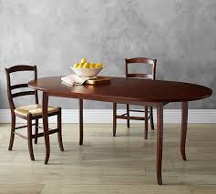 Oval Dining Room Table Chloe Extending Oval Dining Table Pottery Barn