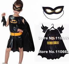 Bat Halloween Costume Kids Batgirl Costumes Children Fantasia Infantil Halloween Fancy