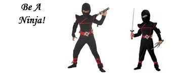ninja halloween costume be a ninja