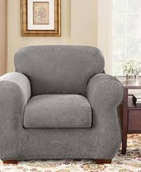 Slip Cover For Chair Sure Fit Stretch Pique Slipcovers Slipcovers For The Home Macy U0027s
