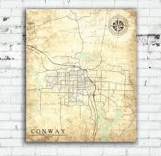 Arkansas Map Us Us Map Conway Arkansas Thempfa Org