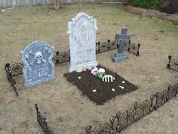 40th birthday theme graveyard