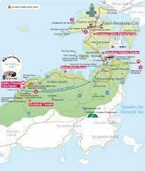 Treasure Island Map Amakusa Northern Area Amakusa Treasure Island Tourism Association