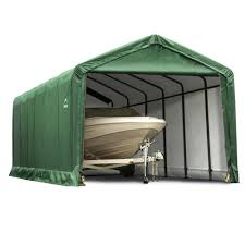 custom built generator shed outdoor structures pinterest portable portable garages canopies rv garage rv canopy camping world