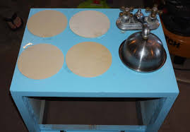 a diy play kitchen for baby ghm maple and me