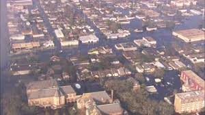 Katrina Homes New Orleans House Flood Homes In New Orleans Are Flooded After
