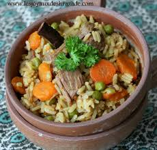 cuisine avec du riz plat unique tajine de riz les joyaux de sherazade