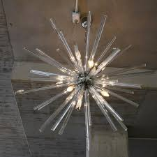 Murano Glass Lighting Pendants by Murano Glass Sputnik Hanging Lamp Italy At 1stdibs