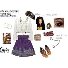 Gypsy Halloween Costumes Diy Halloween Costume Inspiration Gypsy Polyvore