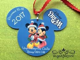Cruise Ornament Disney Cruise Ornament Merrytime Cruise Ornament