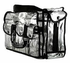 Professional Makeup Artist Organizer Monda Studio Clear Set Bag Product Junkee Pinterest Tissue