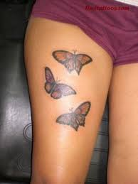 butterfly tattoos on upper thigh tattooic