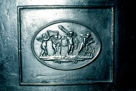 october u2013 carron company u2013 cast iron plate panel 1786