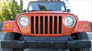 2006 jeep wrangler tj 4 0l i6 6 spd manual flat towable youtube