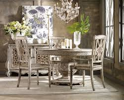 Chatelet RoundOval Pedestal Dining Room Set By Hooker Furniture - Hooker dining room sets
