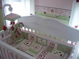 baby nursery attractive red and grey ladybug baby bedding sets