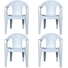 White Plastic Patio Chairs Stackable Indoor U0026 Outdoor White Plastic Lawn Chairs Garden Patio Armchair