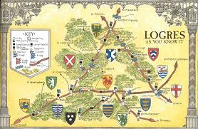 Leicester England Map by Arthurian Maps