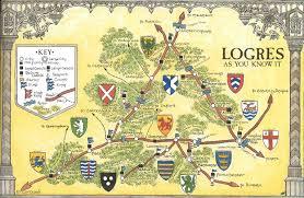 Britain Map Arthurian Maps